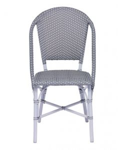 AluRattan™ Bistro Style Side Chair - Available in Many  Colors