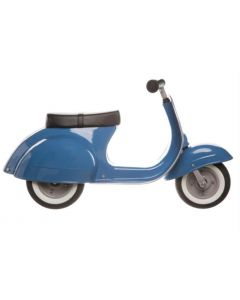 PRIMO Ride On Kids Toy Moped Classic (Blue) - ON BACKORDER UNTIL FEBRUARY 2021