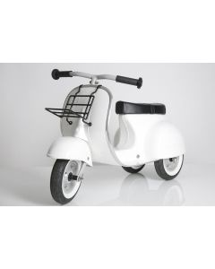 PRIMO Ride On Kids Toy Moped Special (White) - ON BACKORDER UNTIL FEBRUARY 2021