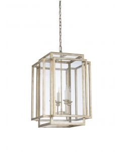 Amherst Chandelier in Antique Silver Leaf - CALL TO CONFIRM AVAILABILITY