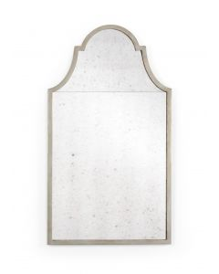 Antique Silver Arch Design Wall Mirror