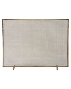 Arteriors Gita Fireplace Screen in Antique Brass Finish