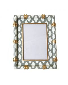 Parsi Grey Bamboo Picture Frame