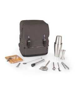 Bar Backpack Portable Cocktail Tote in Grey