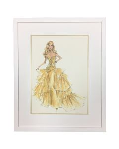 Barbie Couture 50th Anniversary Framed Wall Art