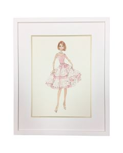 Barbie Couture Cover Girl Framed Wall Art