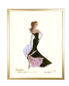 Barbie Limited Siren Wall Art With Optional Frame