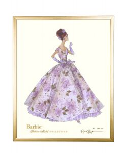 Barbie Limited Violette Wall Art With Optional Frame