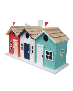 Beach Huts Birdhouse