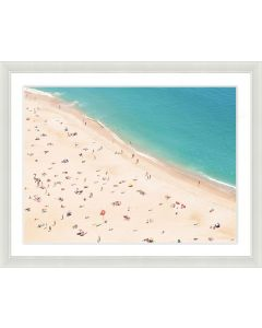 Beach Scene Framed Wall Art I-Available in a Variety of Sizes