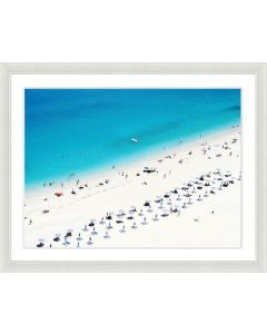 Beach Scene Framed Wall Art III-Available in a Variety of Sizes