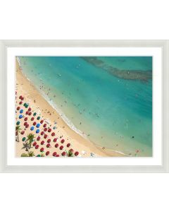 Beach Scene Framed Wall Art IV-Available in a Variety of Sizes