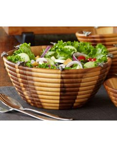 Vagabond House Bee Hive Salad Serving Bowl