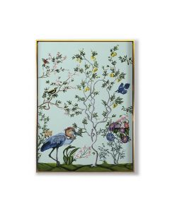 Bird and Branch Chinoiserie 3 Framed Wall Art