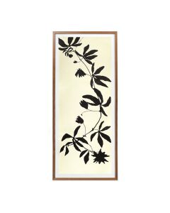 Black Stems 3 Framed Panel Wall Art - Available in 2 Sizes