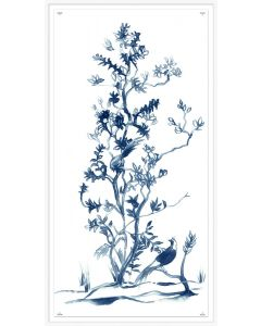Blue Chinoiserie 1 Framed Wall Art