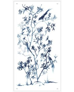 Blue Chinoiserie 2 Framed Wall Art