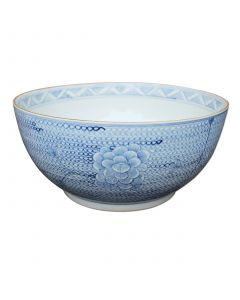 Blue and White Chain Decorative Bowl