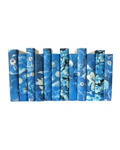 Blue Flower Mix of Decorative Books - Priced Per Book
