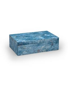 Blue Hammer Shell Decorative Box