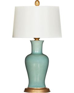 Bradburn Home Amelie Verde Table Lamp with Shade - LOW STOCK