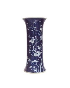 Blue & White Plum Blossom Umbrella Stand/Vase