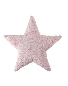 Washable Pink Star Children's Pillow