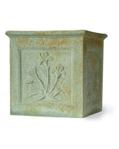 Botanical Garden Planter in a Bronzage Finish