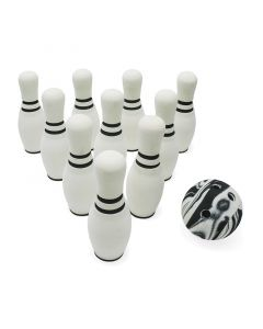 Bowling Ball and Pins Set Toy for Kids