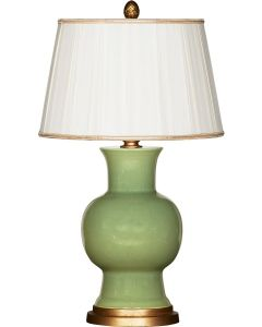 Juliette Verde Table Lamp With Shade - ON BACKORDER UNTIL LATE APRIL 2021