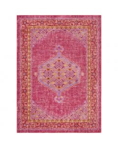 Bright Pink and Orange Germili Rug - FINAL STOCK, CALL TO CONFIRM AVAILABILITY