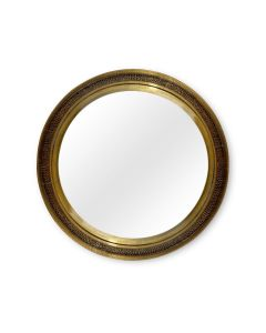 Bungalow 5 Dorian Large Antique Brass Mirror