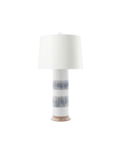 Bungalow 5 Elena Table Lamp in Grey and White - ON BACKORDER UNTIL EARLY MAY 2020