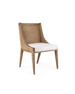 Bungalow 5 Raleigh Caned Armchair Chair in Driftwood - ON BACKORDER UNTIL LATE JUNE 2021