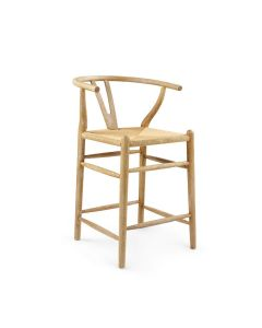 Bungalow 5 Oslo Counter Stool in Natural - ON BACKORDER UNTIL JANUARY 2021