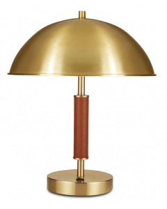 Bunny Williams Brass Dome Lamp