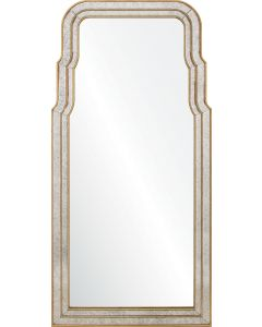 Bunny Williams Hand Carved Queen Anne Mirror - Available in 2 Finishes
