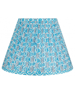 Bunny Williams Windsong Blue & White Lampshade - Available in Two Sizes