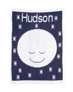 Butterscotch Goodnight Moon Blanket