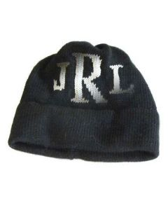 Regular Or Earflap Classic Monogram Personalized Hat - Available in Variety of Colors