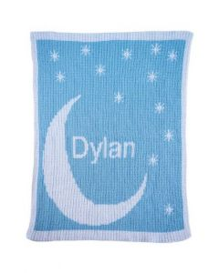 Butterscotch Moon & Stars Blanket