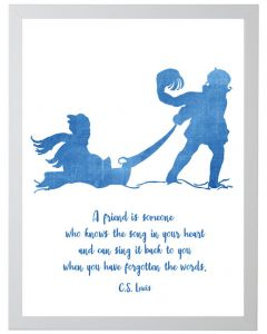 C.S. Lewis Quote Children's Wall Art - Available in Two Different Sizes