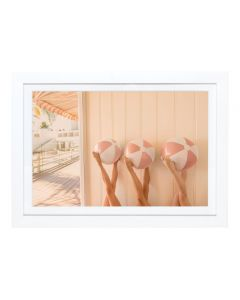 Gray Malin 'The Cabana' Mini Framed Print