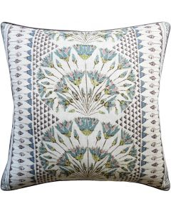 Cairo Square Decorative Pillow in Eggplant – Available in Two Sizes