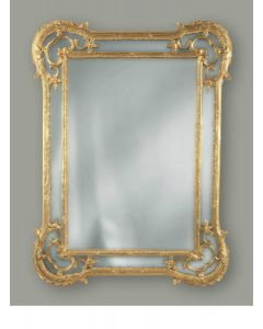 Carver's Guild Rivoli Wall Mirror in Antique Gold Leaf