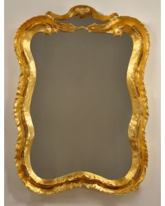 Carvers' Guild New Wave Mirror in Two Different Finishes