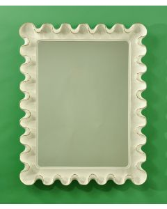 Carvers Guild Small Wave Moderne Mirror - Available in a Variety of Finishes
