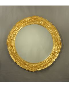 Carvers' Guild Vista Round Mirror - Available in Three Different Finishes