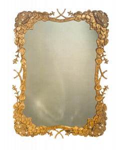 Carvers' Guild Climbing Hydrangea Mirror - Available in a Variety of Finishes
