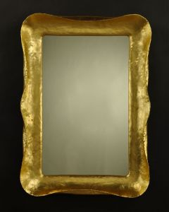 Carvers Guild Tempo I Wall Mirror in Gold Leaf Finish